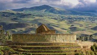 Visite du site archéologique Ingapirca en Equateur