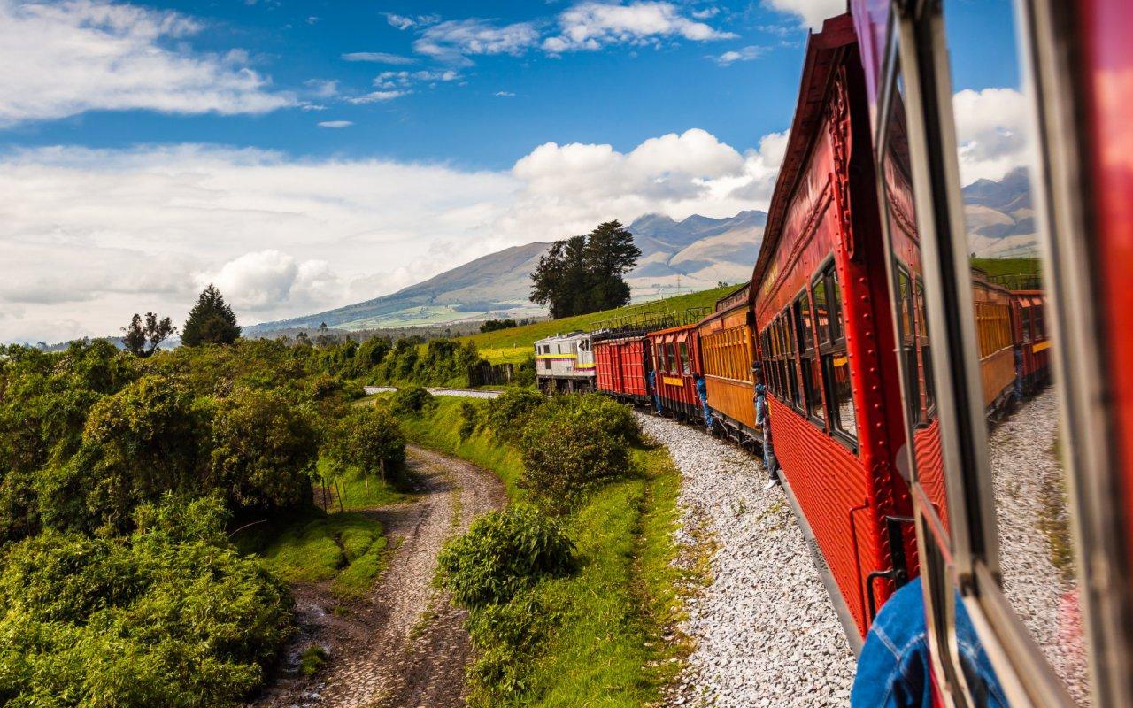 Train en Equateur