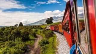 Voyagez en train en Equateur