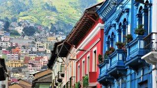 Maison coloniale - Quito en Equateur
