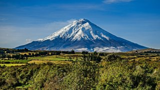 Voyage et tourisme en Equateur : le volcan Cotopaxi