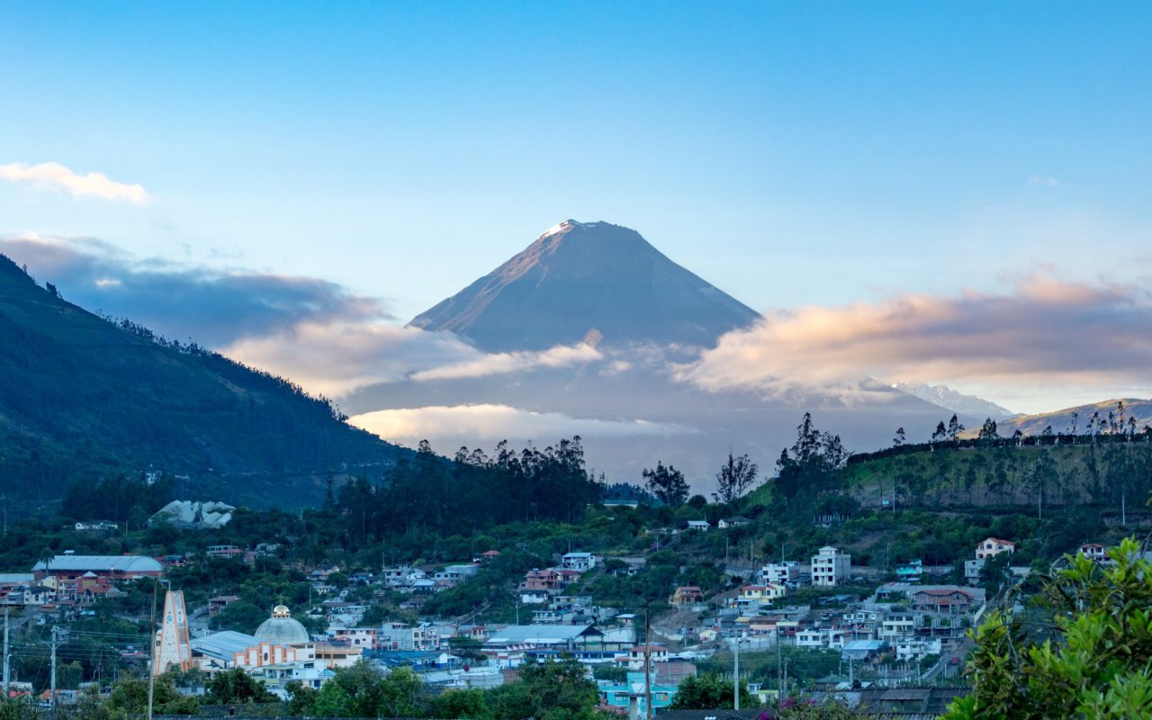 volcan Tungurahua - voyage equateur