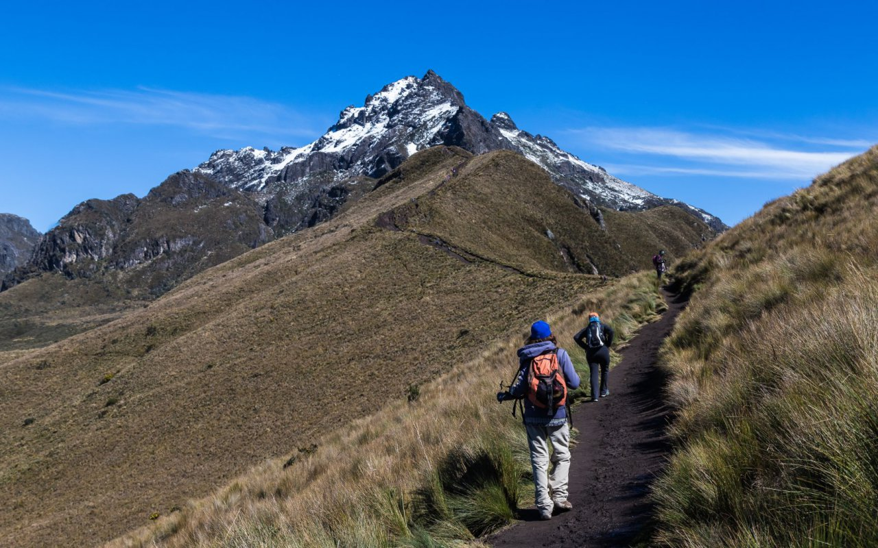 Randonnée au Rucu Pichincha en Equateur