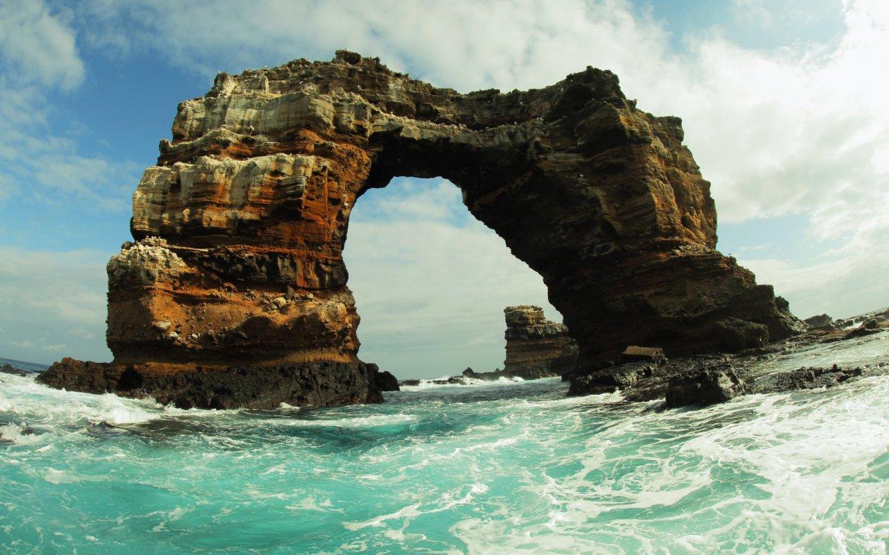 Arche de Darwin au Galapagos