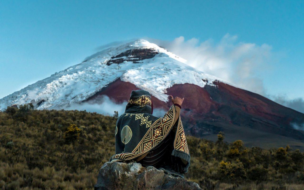 Volcan Cotopaxi en Equateur
