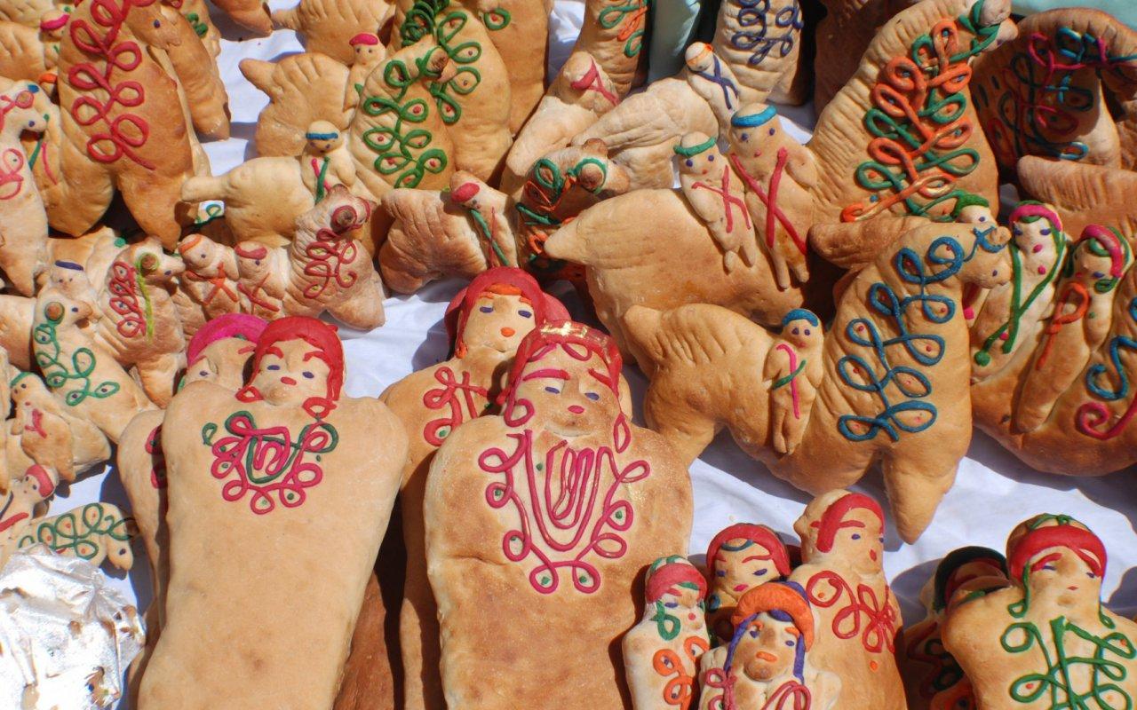 pain traditionnel equateur - guaguas de pan, Ecuador