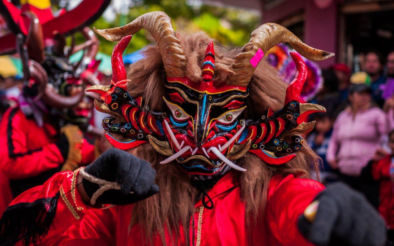 Diabla, diablada pillareña, Ecuador