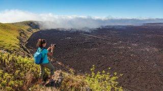 volcan sierra negra - voyage galapagos - terra ecuador