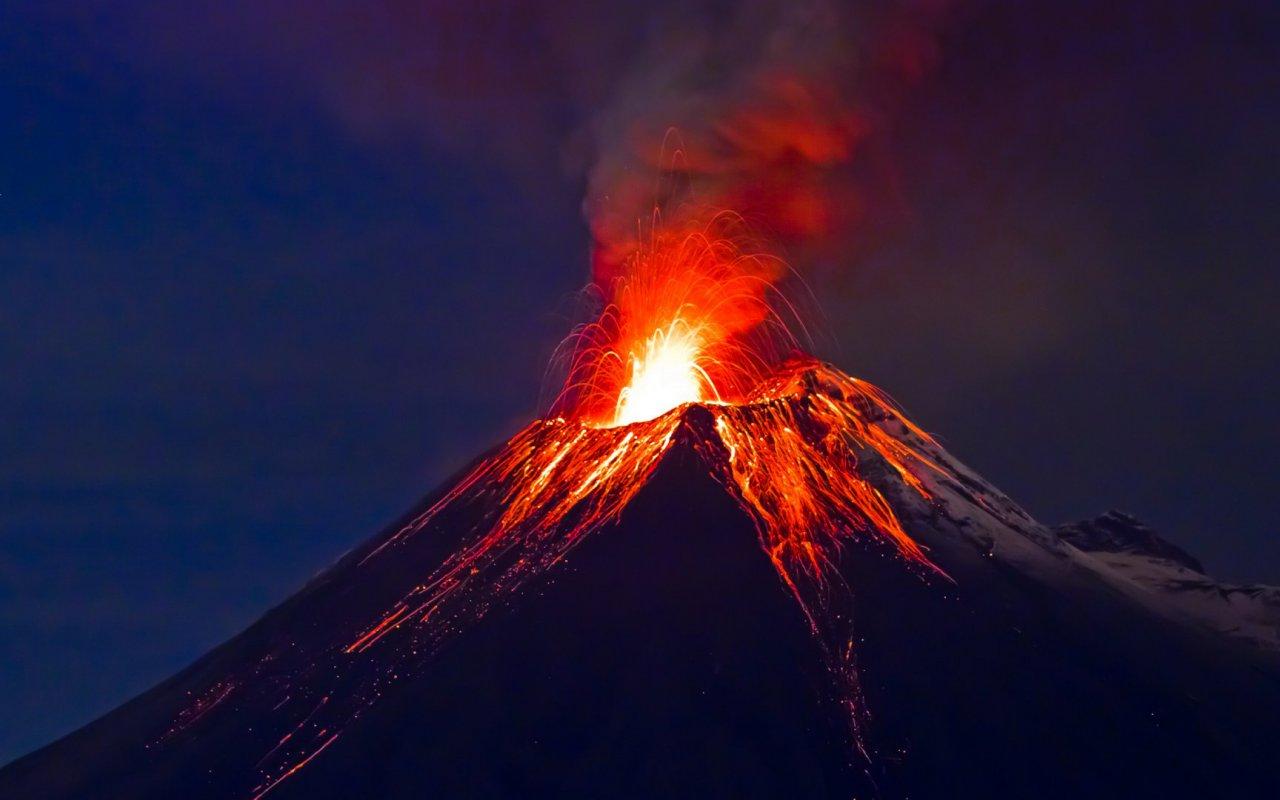 volcan Tungurahua - equateur voyage