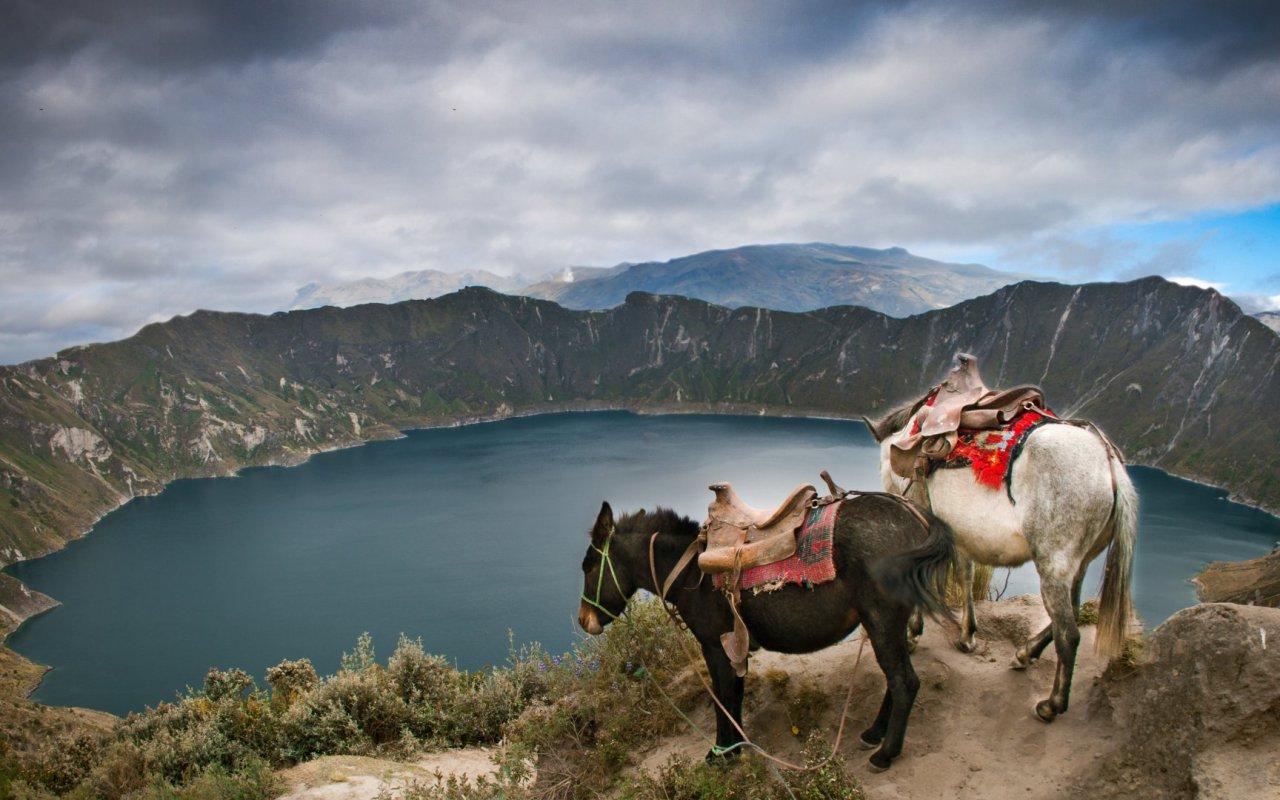Quilotoa - voyage equateur