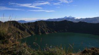 lagune quilotoa - voyage equateur