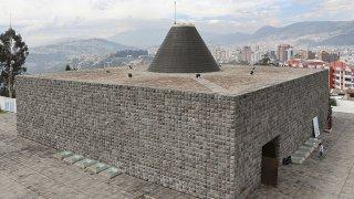 La Chapelle de l'homme, à Quito par Oswaldo Guayasamin