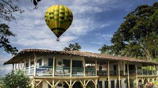 vol en montgolfière - voyage equateur