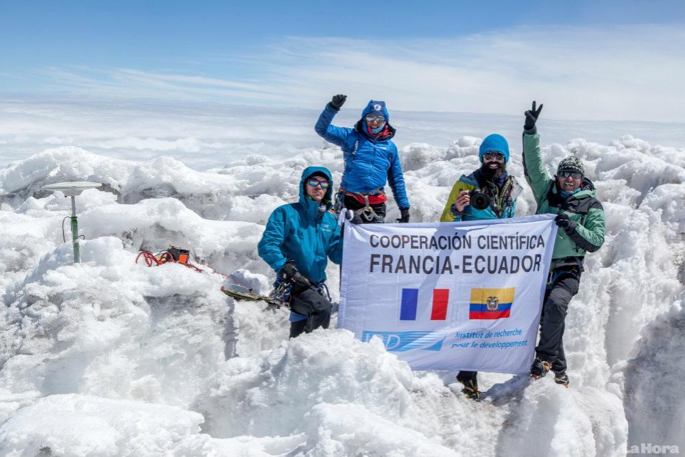 Mission géodésique en Equateur