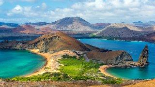 L'aéroport des Iles Galapagos