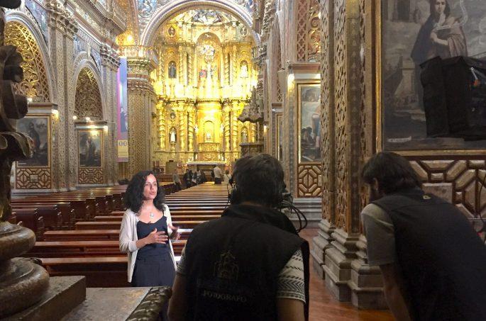 interview production audiovisuelle equateur