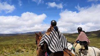 randonnée cheval equateur - terra ecuador