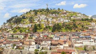 Panecillo Quito Ecuador