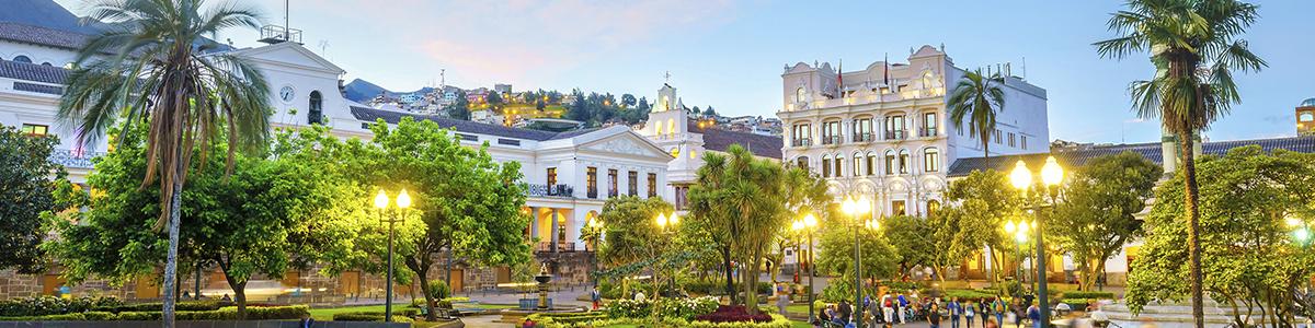 Quito, la capitale équatorienne