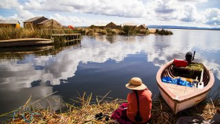 lac titicaca au pérou - voyage equateur et pérou