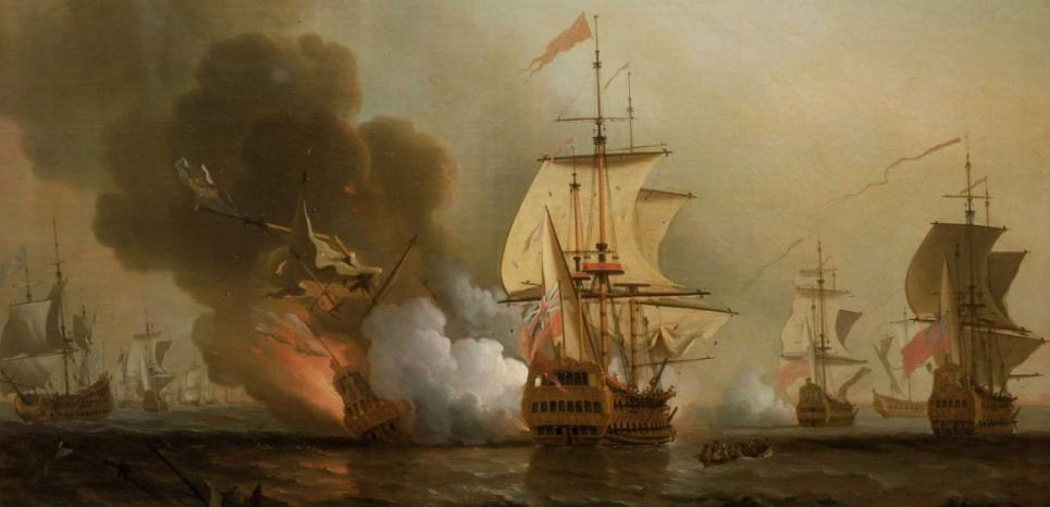 Le galion San José au large de Carthagène