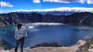 Voyage de reconnaissance : l'avenue des volcans en Equateur